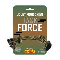 Corde 2 noeuds Task Force pour chien