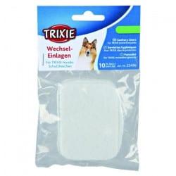 10 Serviettes hygiéniques pour slip de protection pour chien