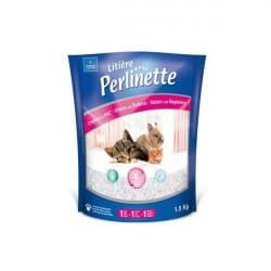 Litière Perlinette micro granulés pour chat et chaton 1.5 kg
