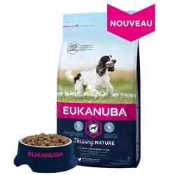 Croquettes pour chien petites et moyennes races senior Eukanuba