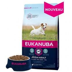 Croquettes pour petit chien adulte Eukanuba