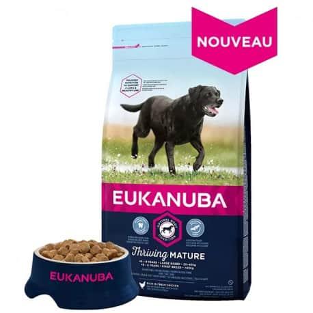 Croquettes pour grand chien senior Eukanuba 15kg