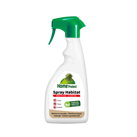 Home Protect spray habitat. Anti-puces et acariens - menthe 500ml