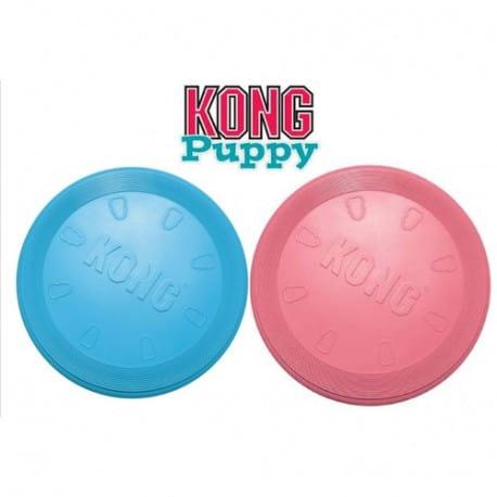 Kong Flyer Puppy - Frisbee très résistant pour chiot