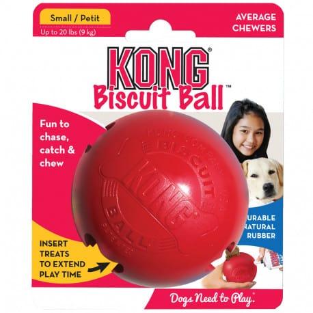 Kong Biscuit Ball Classic, la balle à biscuit pour chien