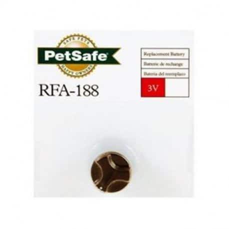 Pile alcaline 3V RFA-188 pour collier Petsafe