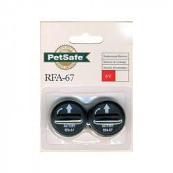 Pile alcaline 6V RFA-67D11 pour collier Petsafe
