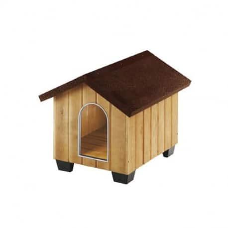 Niche domus bois pour chien