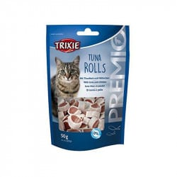 Friandises Premio Tuna rolls pour chat 50gr