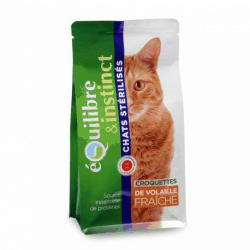 Croquettes pour chat stérilisé Equilibre & Instinct