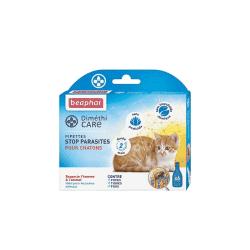 Pipettes anti parasites pour chat Diméthicare