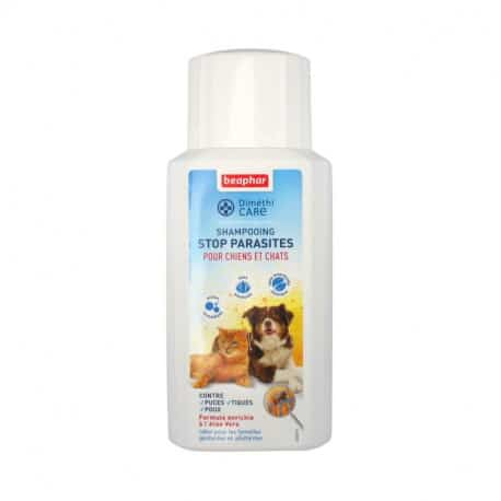 Shampoing anti parasite chien chat Dimethicare 200 Ml