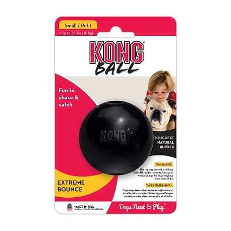 Kong Ball Extrême, la balle ultra résistante pour chien