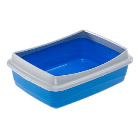 Bac à litière simple avec rebord
