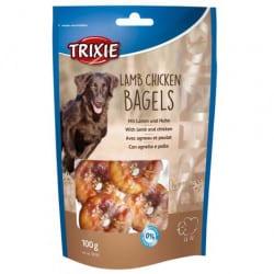 Friandises Bagels pour chien Premio agneau et poulet 100gr