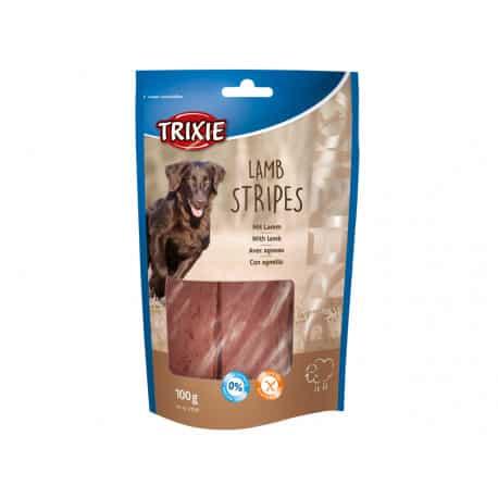 Filets d'agneau pour chien Premio Lamb Stripes 100g