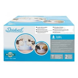 Drinkwell Fontaine 360° blanche pour chien et chat