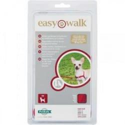Harnais Easy Walk Rouge pour chien