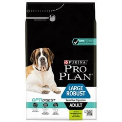 Croquettes pour chien adulte robust sensitive sigestion à l'agneau Proplan