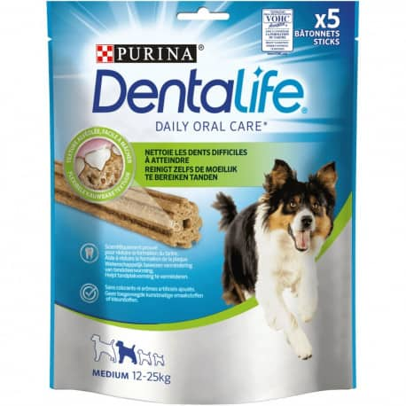 Friandises Dentalife Snacks à mâcher petits formats pour chien