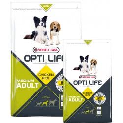 Croquettes pour chien adulte moyen Opti Life