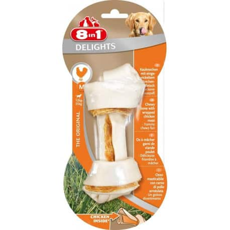 Friandises pour chien 8 in1 delight M