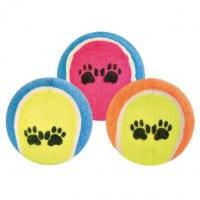 Balles tennis ø 6.4 cm pour chien