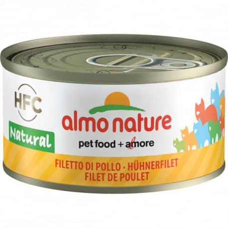 Boîtes de pâtée pour chat Almo Nature Natural