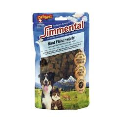 Friandise pour chien et chat dés de viande Delibest