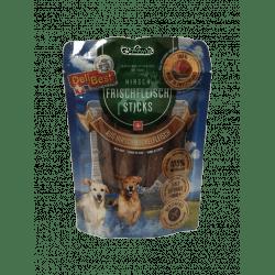 Friandise pour chien stick à la viande 10cm