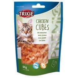 Friandises pour chat premio cube de poulet 50gr