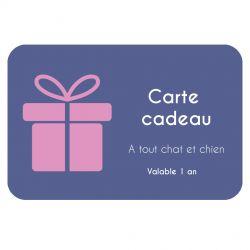 Carte Cadeau A tout chat et chien