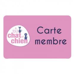 Carte membre abonnement