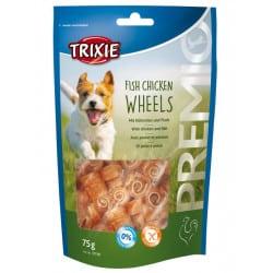Friandises pour chien Premio Fish Chicken Wheels 75g