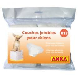 Couches culottes pour chien