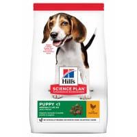 Croquettes pour chiot moyen à l'agneau Hill's Science-Plan Puppy Medium 12kg