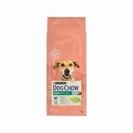 Croquettes chien ayant tendance à l'embonpoint Purina Dog Chow Light