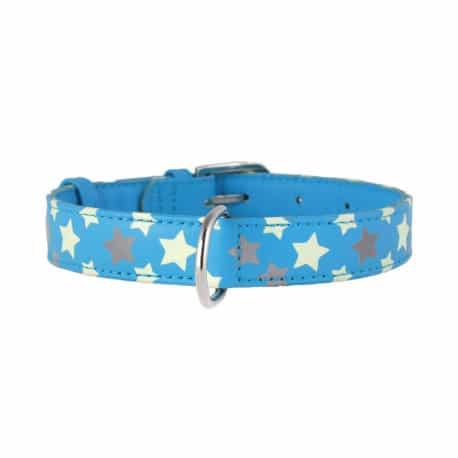 Collier glamour avec étoiles pour chien