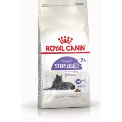 Croquettes chat âgé stérilisé Royal-Canin sterilised +7