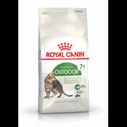 Croquettes chat d'extérieur âgé de + de 7 ans Royal-Canin Outdoor 7+