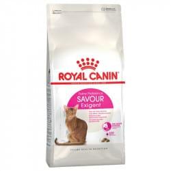 Croquettes pour chat difficile, réceptif aux saveurs Royal-Canin Exigent savour