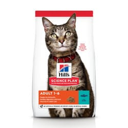Croquettes pour chat adulte, Hill's Science Plan Optimal Care au thon