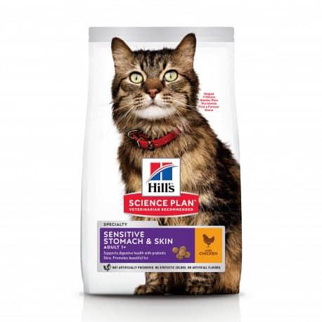 Croquettes pour chat sensible Hill's Science Plan Sensitive Stomach