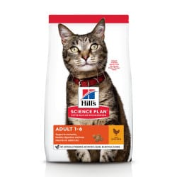 Croquettes pour chat adulte Hill's Science Plan Optimal Care au poulet