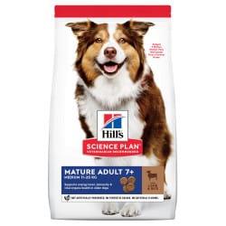 Croquettes pour chien moyen âgé  Hill's Science-Plan