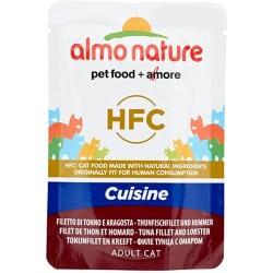 Almo Nature Classic cuisine Filet de thon et homard pour chat