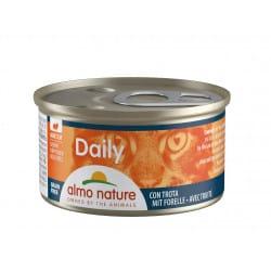 Almo Nature Daily Bouchées à la truite 85gr