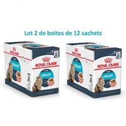 Royal Canin Urinary en Sauce 12X85gr Lot de 2 boîtes dont une à -60%