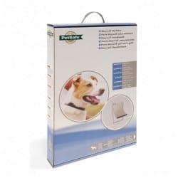 Chatière pour grand chien  45 kg avec cadre aluminium