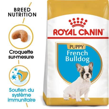 Croquettes pour chiot Bouledogue Français Royal Canin